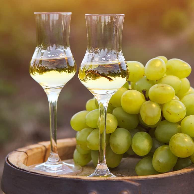 Weinkellerei Meraner Spirituosenauswahl