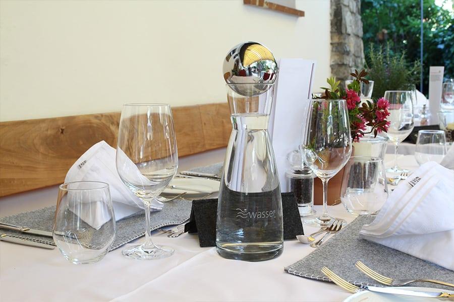 Weinkellerei Meraner Wellwasser Technology in der Gastronomie