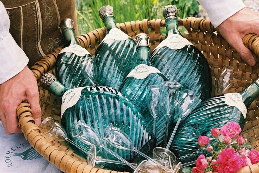 Weinkellerei Meraner Rochelt Schnaps