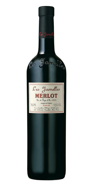 Weinkellerei Meraner Les Jamelles Merlot
